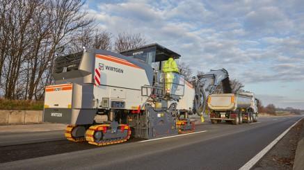 可靠的智能型机器:维特根F系列大型铣刨机